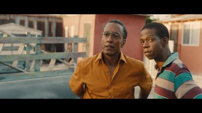 """Andre Royo, left, in a scene from """"Hunter Gatherer,"""" the closing night film for the 2016 Maryland Film Festival."""