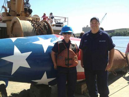 Battered Baltimore buoy gets some Sailabration love