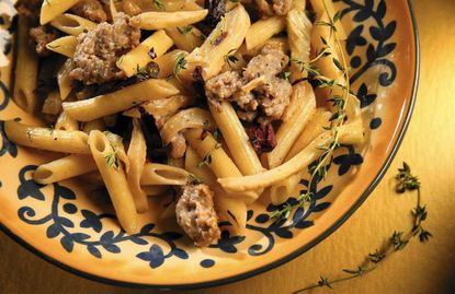 """Pasta With Fennel and Sausage 