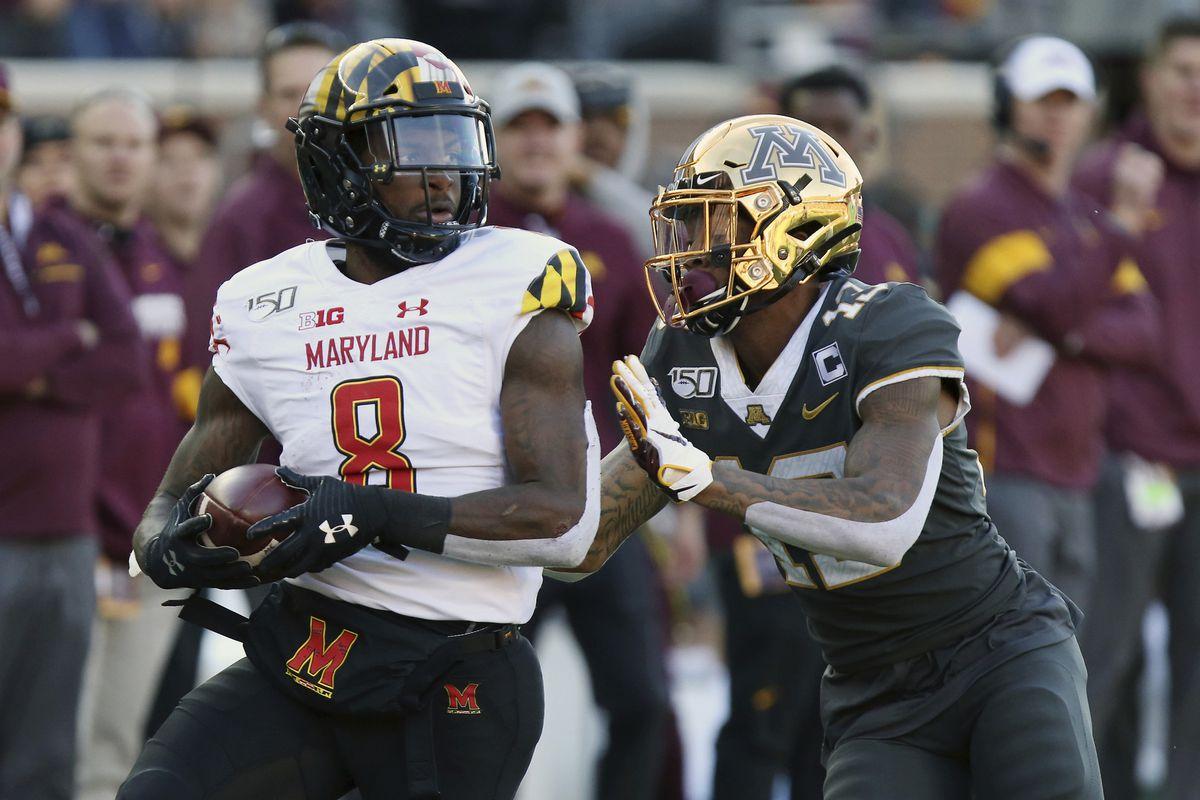 Tino Ellis and Marcus Lewis seeking to build on Maryland history of  producing NFL cornerbacks - Baltimore Sun