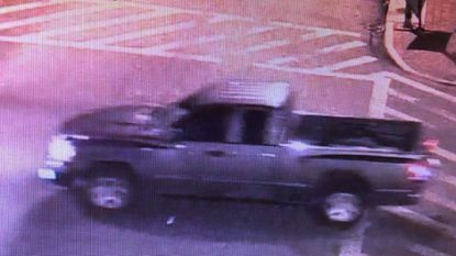 Police are looking for a 2005-2007 Dodge Dakota truck with damage to the front right corner.