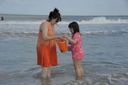 A stretch of Ocean City's beach earned the NRDC's five-star rating as one of the 12 safest bathing and swimming areas, with no water-quality violations and rigorous testing and notification policies.