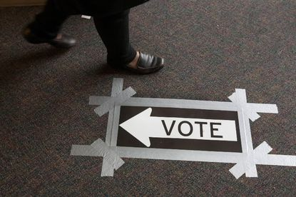 Marylanders headed to the polls Tuesday to cast their votes in a number of races.