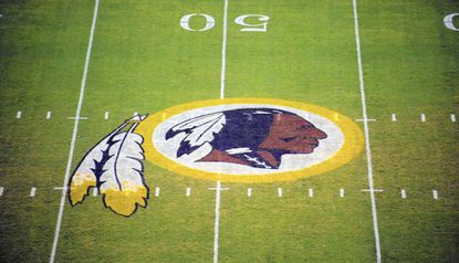"""In """"Redskins: Insult and Brand,"""" C. Richard King looks at Washington, D.C.'s professional football team and its controversial name in the context of identity and inclusion in the United States."""