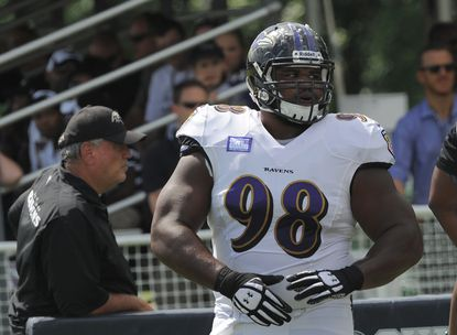 Ravens defensive tackle Brandon Williams was counted on more heavily in 2014 after playing a supporting role his rookie season.