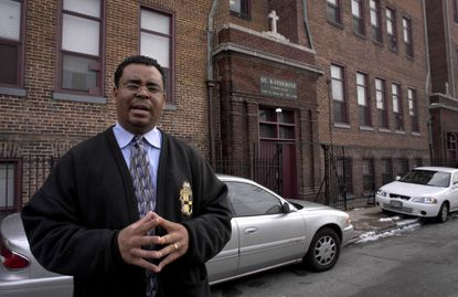 Kirk Gaddy worked at several Catholic schools in East Baltimore.