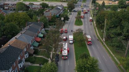 Residents living near Baltimore's Hillen neighborhood and around Lake Montebello were asked to shelter in place for about 2½ hours as firefighters investigated a chlorine spill from a local filtration plant. September 16, 2020