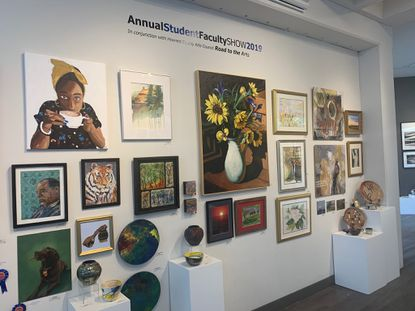 The annual Student/Faculty Show runs through Sept. 28 at the Columbia Art Center.