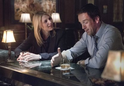 """Claire Danes as Carrie Mathison and Damian Lewis as Nicholas """"Nick"""" Brody in 'Homeland.'"""