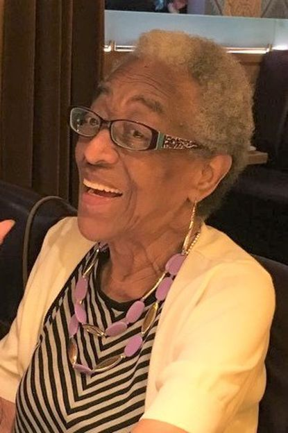 Mae Ellen Cuffee, a retired Social Security Administration claims adjuster who was an accomplished cook, died of dementia complications Dec. 18 at her daughter's Ashburton home.