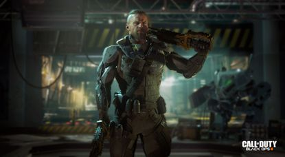 """This image released by Activision shows a scene from """"Call of Duty: Black Ops 3,"""" the third installment in Treyarch's military shooter saga, scheduled for release Nov. 6."""