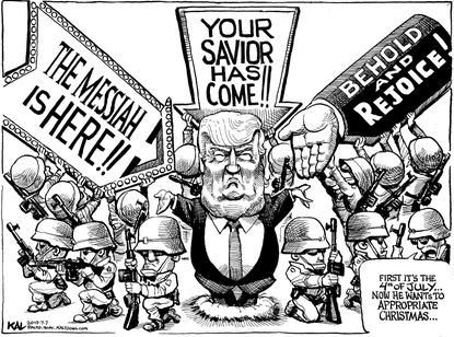 KAL wonders, now that President Donald Trump has made the 4th of July all about him, what holiday will he usurp next?