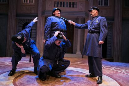 Chesapeake Shakespeare Company adds a healthy dose of slapstick to 'Much Ado About Nothing'