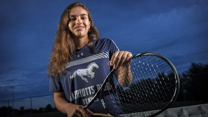 Veronica Cuellar named girls tennis Player of the Year for third time