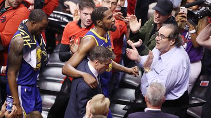 NBA Finals: Kevin Durant sustains Achilles injury during Warriors' win
