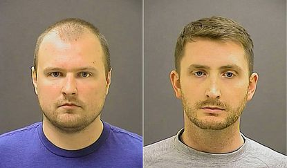 Baltimore police officers Garret Miller and Edward Nero, among the six officers charged in the death of Freddie Gray.