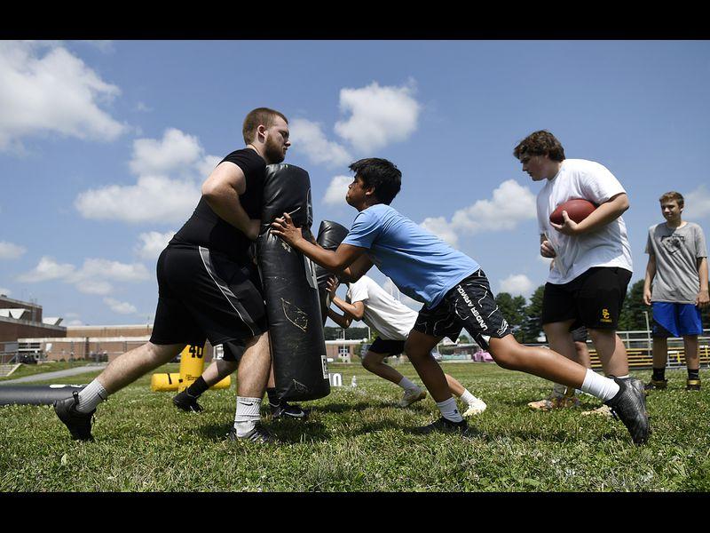 South Carroll Youth Summer Football Camp I PHOTOS - Baltimore Sun