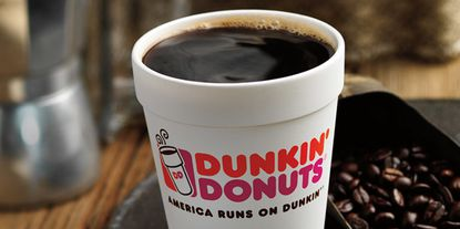 Get a dollar deal at Dunkin' on Tax Day on April 15.