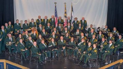 The Westminster Municipal Band is shown at the 2017 Christmas Concert at the Carroll Arts Center. This year's event is set for Monday, Nov. 26.