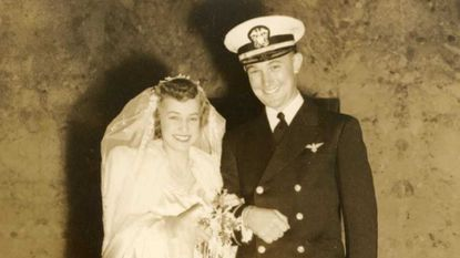 Douglas W. Franchot Jr. and Janet Kerr were married on October 21, 1944.