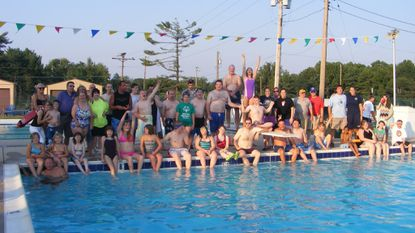 Special Olympians enjoy the Lineboro-Manchester Lions Club Community Swimming Pool in 2015.