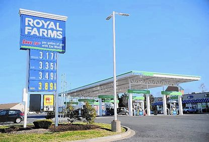 Royal Farms has submitted a proposal for a 20-pump gas station and 3,500-square-foot convenience store on Snowden River Parkway.