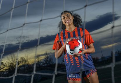 Reservoir junior Kat Parris was named the 2019 Howard County girls soccer Player of the Year.