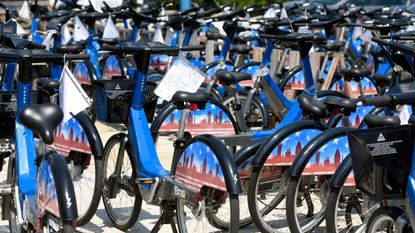 Newly repaired Baltimore Bike Share bikes return to nine locations downtown and around the waterfront on Sunday.