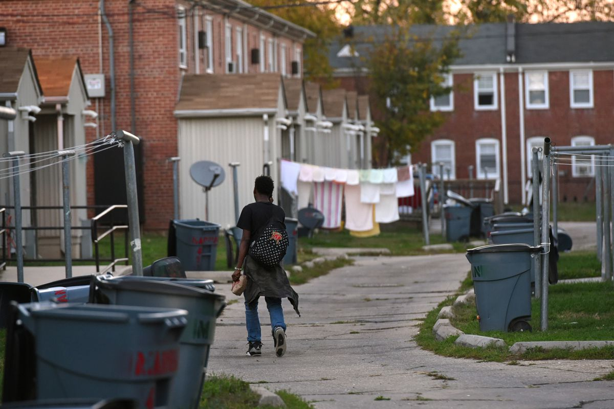 One Baltimore woman wanted recycle bins for her public housing community. She ended up getting much more.