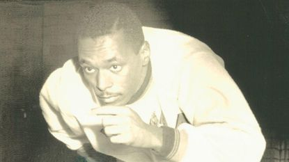 Art Bragg, shown in an undated photo, competed in the 100 meters at the 1952 Olympics despite a hamstring injury.
