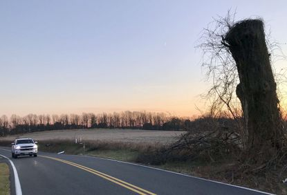 A plan to build a church on this agricultural property along Grafton Shop Road in Forest Hill drew concerns from residents, who told members of the Harford County Development Advisory Committee that drivers speed on their street on a regular basis.