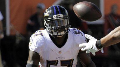 Ravens linebacker C.J. Mosley.