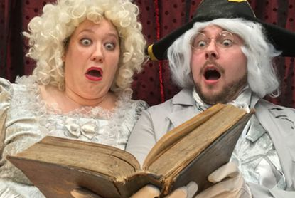 """The Carroll Arts Center is kicking off the Fall season with a not-so-spooky & oh-so hilarious performance of """"A Tell-Tale Tale: The Stories and Poems of Edgar Allan Poe,"""" on Monday, September 30 at 1 pm."""