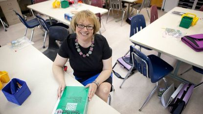 Cromwell Valley teacher wins presidential award for math education