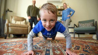 Towson 6-year-old raises $7,200 for heart health