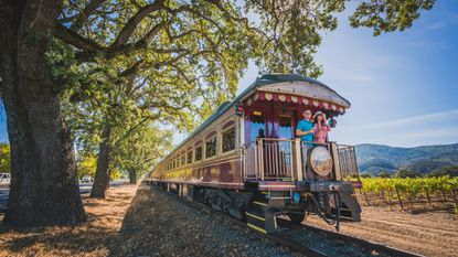 The Napa Valley Wine Train is a popular attraction but can be pricey. Opt for a lunch or dinner trip, which are less than half the cost of some of the other packages.
