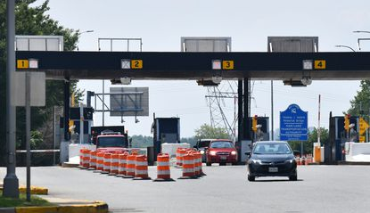 The Maryland Transportation Authority's ashless toll collection on the Thomas J. Hatem Memorial Bridge on U.S. 40 in Harford and Cecil counties. When E-ZPass users did what they were supposed to do - drive briskly through the tolls - they received warning letters from the state.
