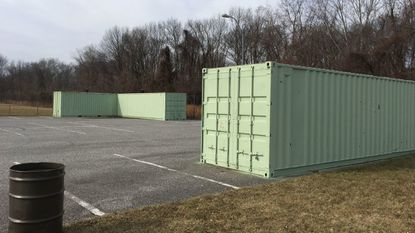 Leaking containters used by Aberdeen Parks and Recreation to store equipment have become a concern for city officials.