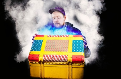 Dan Deacon's new album has a name, release date, and single. Watch the video for 'Feel the Lightning'