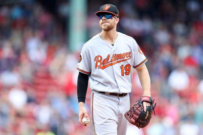 Orioles' Chris Davis' declining playing time might decline further; Mark Trumbo hopes to be back in September