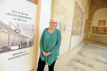 Baltimore Museum of Art Director Doreen Bolger stands in the BMA's Contemporary Wing.