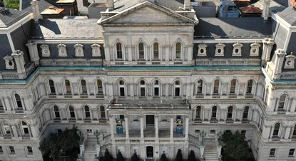 The Baltimore inspector general has found a second company overcharged the city by more than $100,000 and that employees in the Department of General Services rubber-stamped these inflated bills for years. City Hall is shown in 2019.