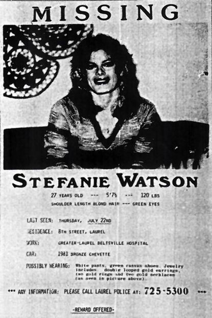 Missing persons poster for Stefanie Watson.