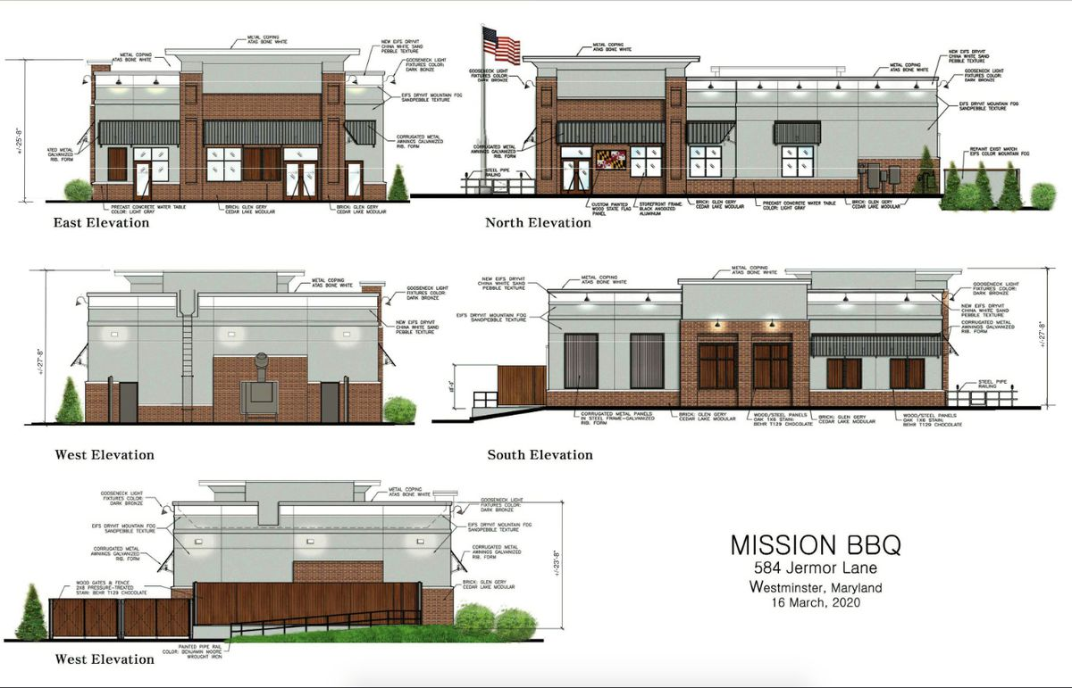 Westminster Mission Bbq Moving Forward Start Of Construction Not Yet Set Carroll County Times