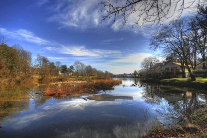 "Michael Oberman used high dynamic range photography for his ""Wilde Lake"" picture."
