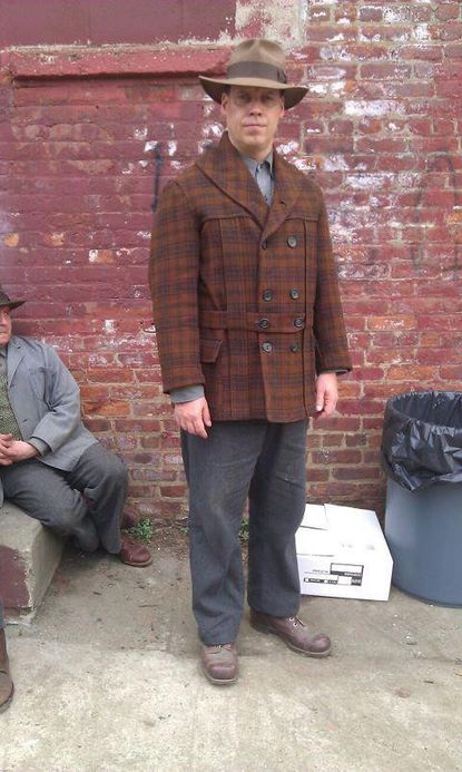 """Actor Jonathon Ruckman, in character for his role on HBO's """"Boardwalk Empire."""""""
