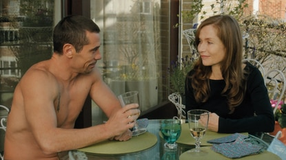 "Kool Shen and Isabelle Huppert in Catherine Breillat's ""Abuse of Weakness"""