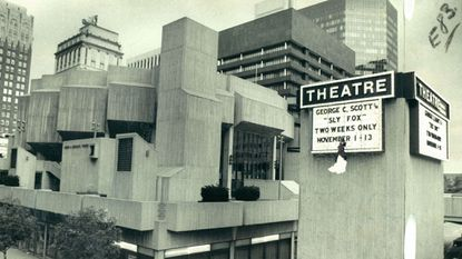 The Morris A. Mechanic Theater in 1976.