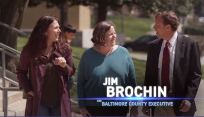 Jim Brochin touts passage of serial rapist bill in new TV ad for Baltimore County executive