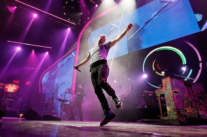 """After being off the road for three years, Coldplay will be back on tour in 2012, including a stop at Washington's Verizon Center on July 8. Concert information: <a href=""""http://findlocal.baltimoresun.com/listings/concert-info-coldplay-at-the-verizon-center-washington"""">Coldplay at Verizon Center July 8</a>"""